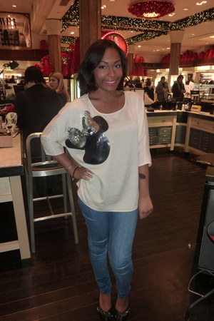 Forever 21 shirt - H&M jeans