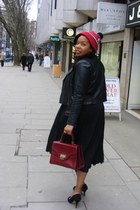 B-Side By Wale Beanie hat - New York Laundry jacket - tote Liliyang London bag