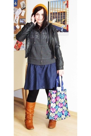 Claires hat - H&M jacket - H&M jacket - Accessorize - Tally Weijl belt - Six Sho