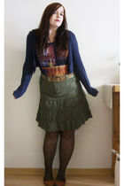 green Surplus skirt
