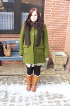 green 2nd Hand H&M coat