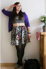 Purple-2nd-hand-via-ebay-cardigan