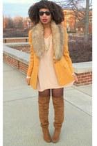 tawny OTK boots - carrot orange Secondhand blazer