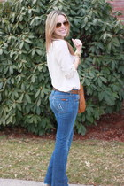 7 for all mankind jeans - Marc by Marc Jacobs bag - Ray Ban sunglasses