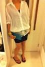 Jcrew-top-havaianas-sandals-topshop-skirt