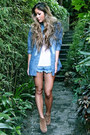 Blue-one-teaspoon-shorts