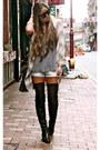 Black-zara-boots