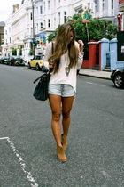 brown asos boots