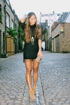 black TFNC dress