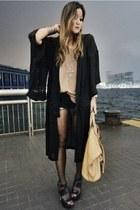 black kimono Maurie & Eve jacket