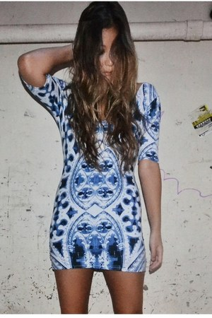 sky blue Motel Rocks dress