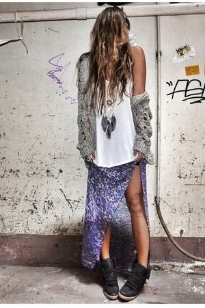 purple bec & bridge skirt