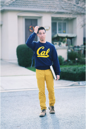 gold H&M pants - Berkeley Sweatshirt sweater