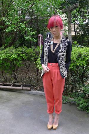 vintage vest vest - Kaileeni pants