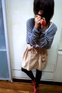 Gray-forever-21-top-brown-wwwaviviwangcn-skirt-red-forever-21-accessories-