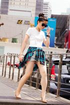 Guess watch watch - Uniqlo shirt - Topshop shorts - Forever 21 cardigan