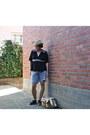 No-brand-hat-unknown-brand-bag-denim-shorts-diesel-jeans-shorts
