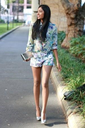 blouse - shorts