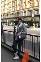 CJC scarf - Gap shirt - True Religion pants - Nike Delta Force shoes - vintage b