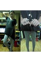 accessories - leggings - blouse