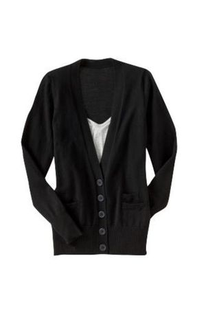 black Juicy Couture cardigan