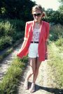 Spencer-blazer-white-wrangler-shorts-h-m-shirt-dilly-shoes