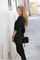 H&M shirt - Chanel purse