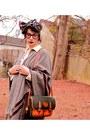 Vintage-scarf-dooney-bourke-bag-urban-outfitters-heels-h-m-pants-zara-