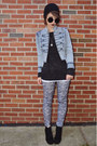 Light-blue-acid-wash-jc-penny-jacket-heather-gray-floral-oviesse-leggings