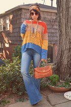 Orange Hippie Sweater