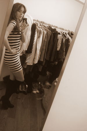 Bershka dress - Cuple shoes - Zara socks