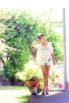 Primark shirt - Mango cardigan - Aldo heels