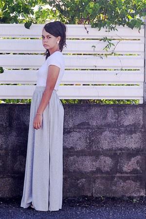 silver Mango skirt