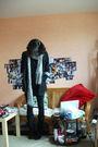 Black-zara-blazer-black-h-m-dress-black-thrifted-skirt-zara-boots-black-