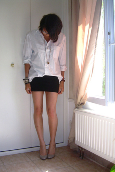 c&a shirt - H&M skirt - Zara shoes - H&M shoes