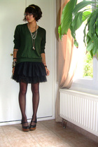 Zara Man top - IKKS child skirt - andr shoes - XDYE t-shirt
