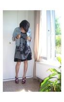 IKKS child - H&M shoes - H&M dress - Zara child vest