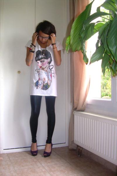 Zara t-shirt - La Redoute dress - H&M shirt - Mango jacket