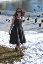 black Isaac Mizrahi for Target dress - black Target shoes