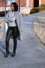 Lucite-booties-boots-gray-fur-coat-black-coated-jeans-gray-sweater