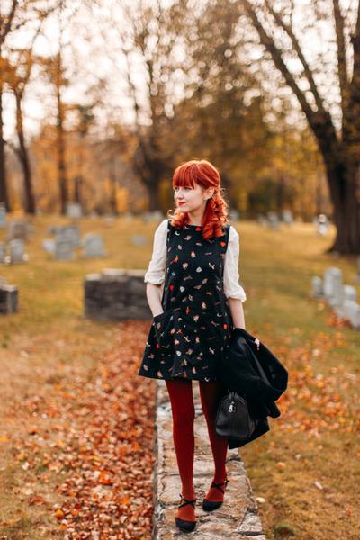 Samantha Pleet dress - Forever 21 blouse - modcloth heels