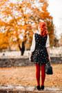 Samantha-pleet-dress-forever-21-blouse-modcloth-heels