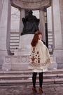 Beige-vintage-cape-coat-white-vintage-dress-black-h-m-tights-brown-seychel