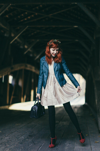 Choies dress - Anthropologie jacket - modcloth heels
