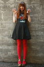 Black-triptych-dress-red-we-love-colors-tights-silver-seychelles-shoes