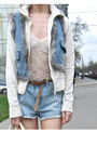 Riverisland-hat-vintage-jacket-topshop-shorts-uniqlo-belt-topshop-blouse