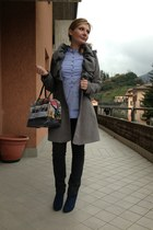 Hollywood Milano boots - etc shirt - gabs bag