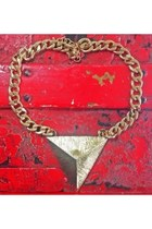 New Street Vintage Triangle Necklace