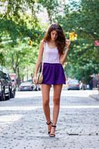 Coco  Liz bag - H&M t-shirt - Zara sandals - Coco  Liz skirt
