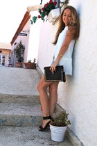 black studded bag Sammy dress bag - black retro vjstyle skirt